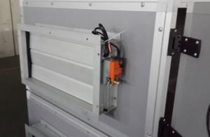 Aluminum alloy air  damper