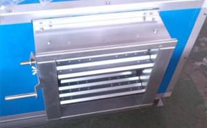Galvanized air damper